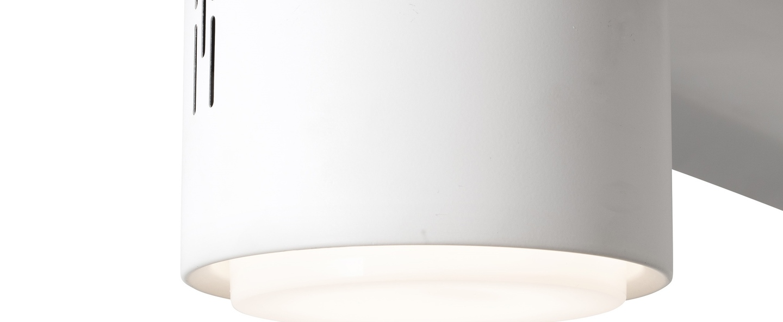 Ventilateur lumineux attos blanc led 2701 a 4600k 1200lm o213cm h34cm faro normal