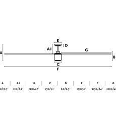 Attos studio faro lab ventilateur lumineux ceiling fan light  faro 33494  design signed nedgis 113800 thumb