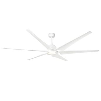 Ventilateur lumineux cies blanc o210 8cm h43cm faro normal