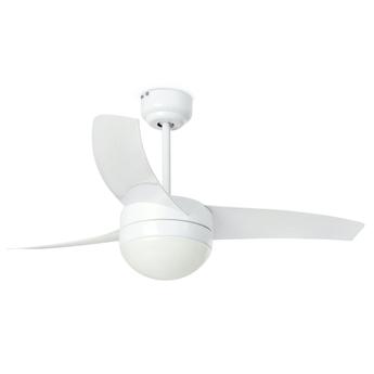 Ventilateur lumineux easy blanc o105cm h46cm faro normal