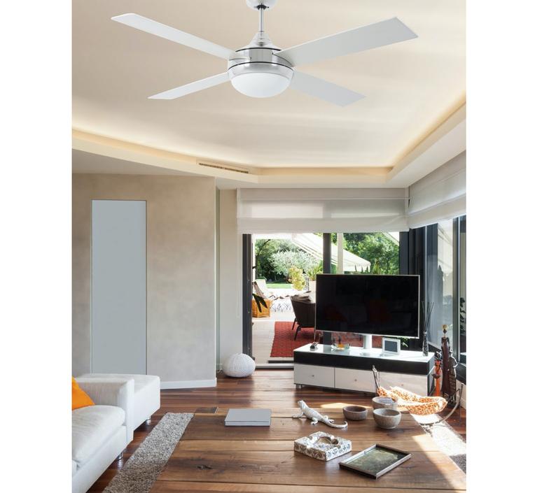 Icaria studio faro lab ventilateur lumineux ceiling fan light  faro 33701  design signed nedgis 113846 product