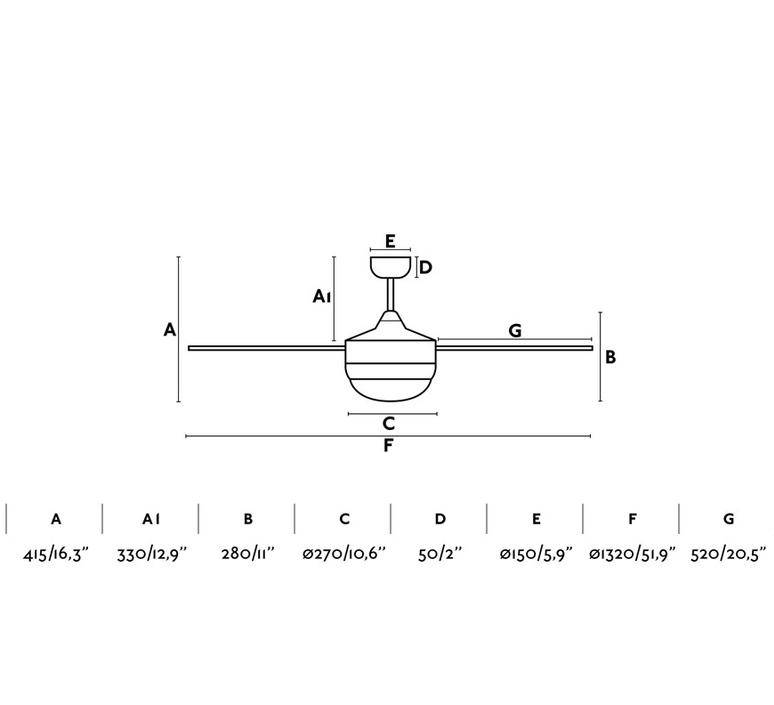 Icaria studio faro lab ventilateur lumineux ceiling fan light  faro 33705  design signed nedgis 113854 product