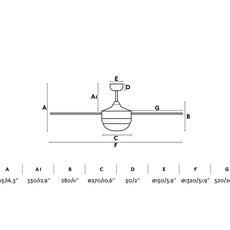 Icaria studio faro lab ventilateur lumineux ceiling fan light  faro 33705  design signed nedgis 113854 thumb