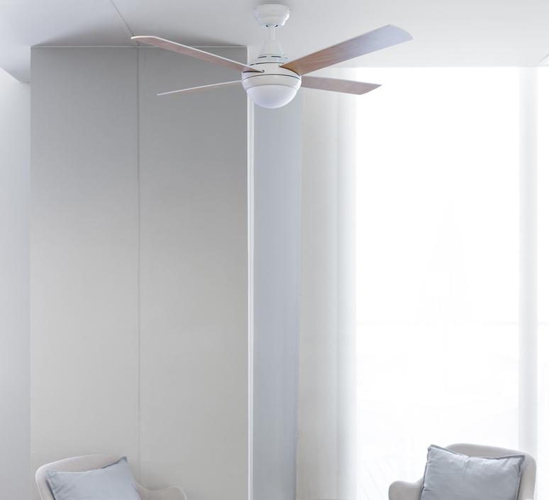 Mini icaria studio faro lab ventilateur lumineux ceiling fan light  faro 33698  design signed nedgis 113746 product