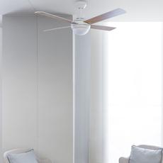 Mini icaria studio faro lab ventilateur lumineux ceiling fan light  faro 33698  design signed nedgis 113746 thumb