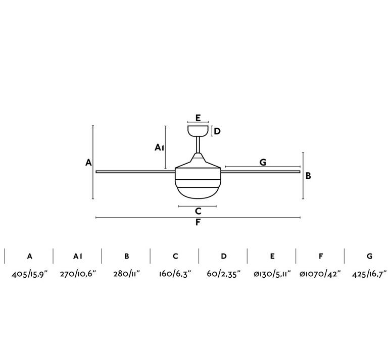Mini icaria studio faro lab ventilateur lumineux ceiling fan light  faro 33699  design signed nedgis 113810 product