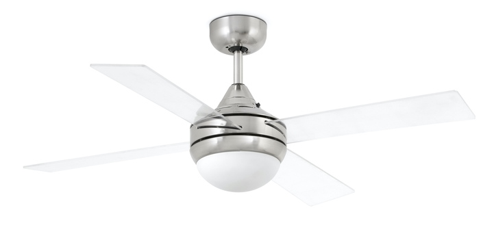 Ventilateur lumineux mini icaria transprent o107cm h40 5cm faro normal