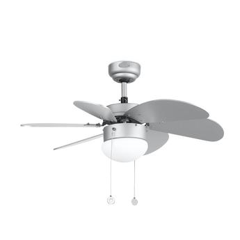 Ventilateur lumineux palao aluminium o81cm h39cm faro normal