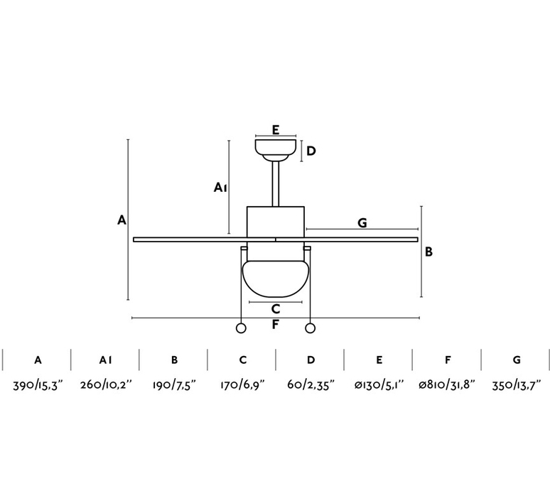 Palao studio faro lab ventilateur lumineux ceiling fan light  faro 33185  design signed nedgis 113961 product