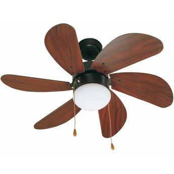 Ventilateur lumineux palao marron o81cm h39cm faro normal
