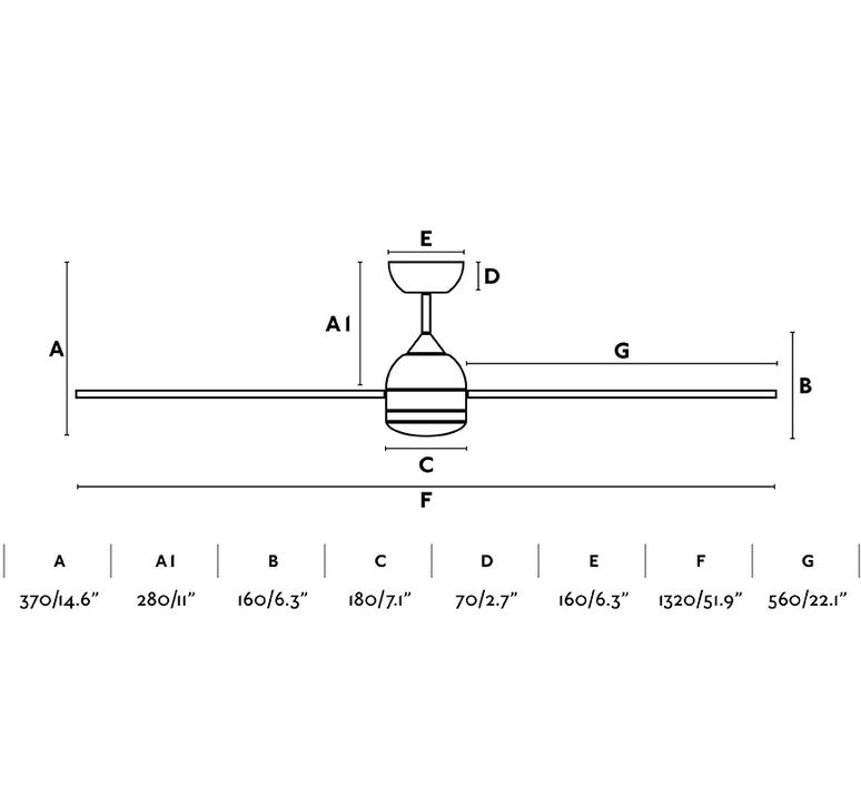 Typhoon  ventilateur lumineux ceiling fan light  faro 33480  design signed nedgis 115024 product