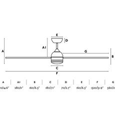 Typhoon  ventilateur lumineux ceiling fan light  faro 33480  design signed nedgis 115024 thumb
