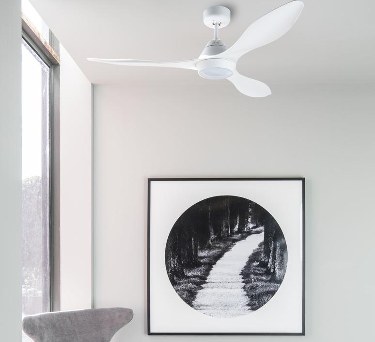 Polaris ete hiver dc motor studio faro lab ventilateur lumineux ceiling fan light  faro 33346  design signed nedgis 115036 product