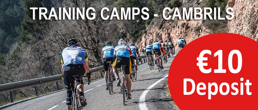 cycling training camp cambrils