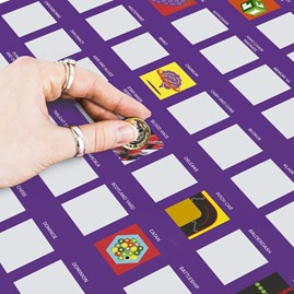100 Board Games To Try Bucket List Poster