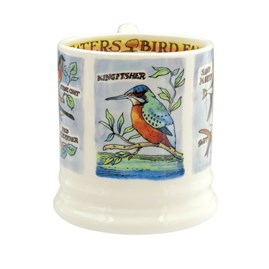 Emma Bridgewater Kingfisher and Insect Eaters 1/2 Pt Mug