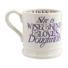 Emma Bridgewater Love & Wild Flowers Mum 1/2 Pint Mug