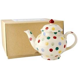 Emma Bridgewater Polka Dot 4 Mug Teapot