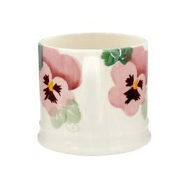 Emma Bridgewater Pink Pansy Small Mug