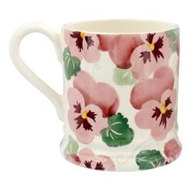Emma Bridgewater Pink Pansy 1/2 Pint Mug