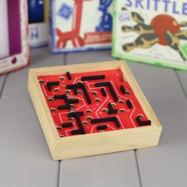 The Wooden Maze Puzzle