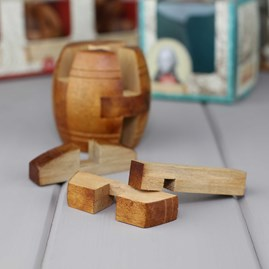 Nelson's Barrel Wooden Puzzle