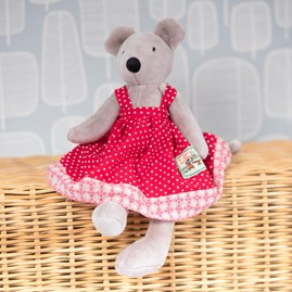 Moulin Roty Nini The Mouse Soft Toy