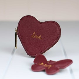 'Love' Heart Coin Purse