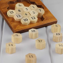 Aristotle's Wooden Number Puzzle