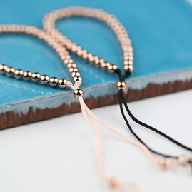 Rose Gold Friendship Bracelet
