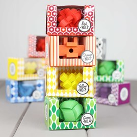 Colourful Individual Wooden Puzzles