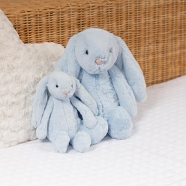Jellycat Bashful Blue Bunny Medium Soft Toy