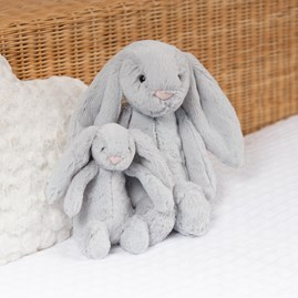 Jellycat Bashful Silver Bunny Medium Soft Toy