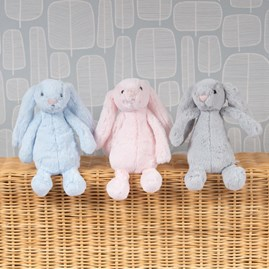 Jellycat Bashful Silver Bunny Small Soft Toy
