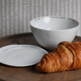 Porcelain Breakfast Cereal Bowl
