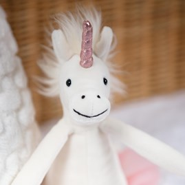 Jellycat Dancing Darcey Unicorn Small Soft Toy
