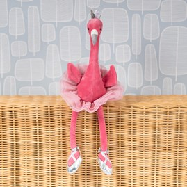 Jellycat Fancy Flamingo Soft Toy
