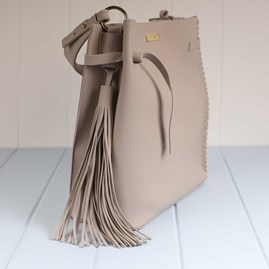 Katie Loxton Florrie Handbag With Tassel And Side Stitching