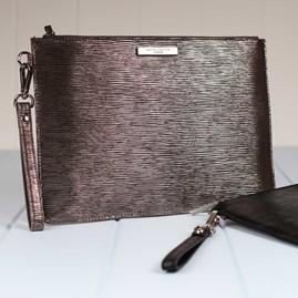 Zara Large Clutch Bag With Detachable Strap
