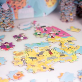 Our Blue Planet Double Sided Puzzle