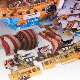 Pirates Giant Hat Boxed Puzzle