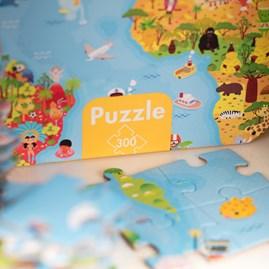 World Map Giant Puzzle