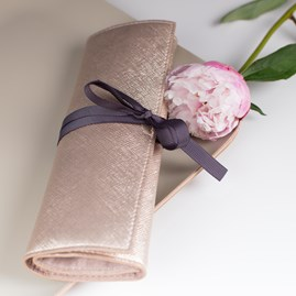 Caroline Gardner Metallic Jewellery Roll