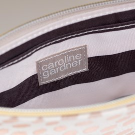 Caroline Gardner Metallic Dotty Essential Purse