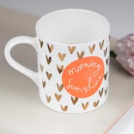 Caroline Gardner Morning Sunshine Boxed Mug