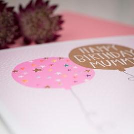 'Happy Birthday Mummy' Greetings Card