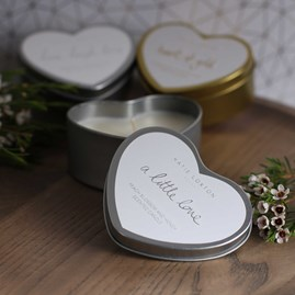 Katie Loxton 'A Little Love' Heart Tin Candle