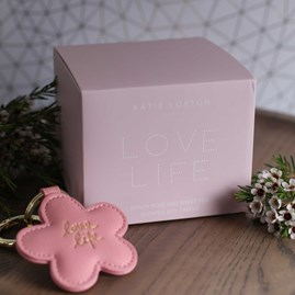 'Love Life' Glass Candle