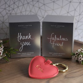 'Thank You' Written Word Candle
