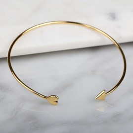 Cupid Bangle In Gold